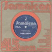 Cornell Campbell - The Gorgon / U Roy - Gorgonwise (Jamaican Recordings) UK 7""